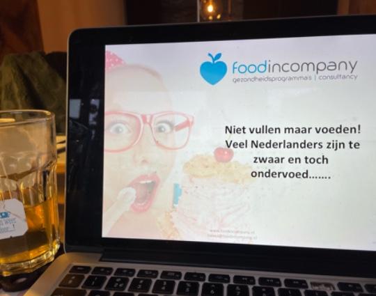 Online workshop gezonde voeding | Online workshop leefstijl | Online workshop vitaliteit | Online workshop sport en voeding | bedrijven | werk | collega's